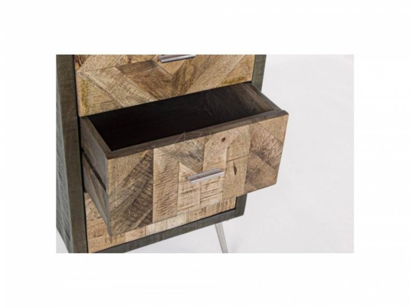 0745881-Chiffonnier Norwood-5 tiroirs-By-Azur-Mobilier 1