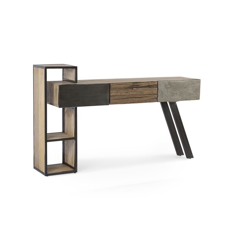 0746640-Console-Manchester-3 tiroirs-By-Azur-Mobilier