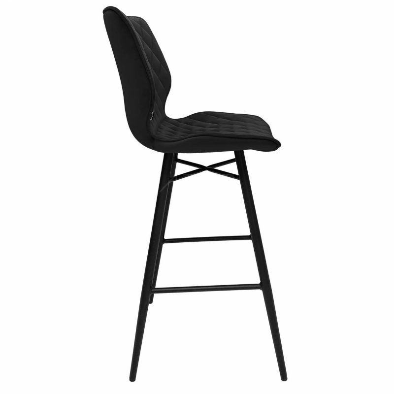 The-one-b-tabouret-velours-noir-hauteur-assise-75cm-by-Azur-Mobilier (2)