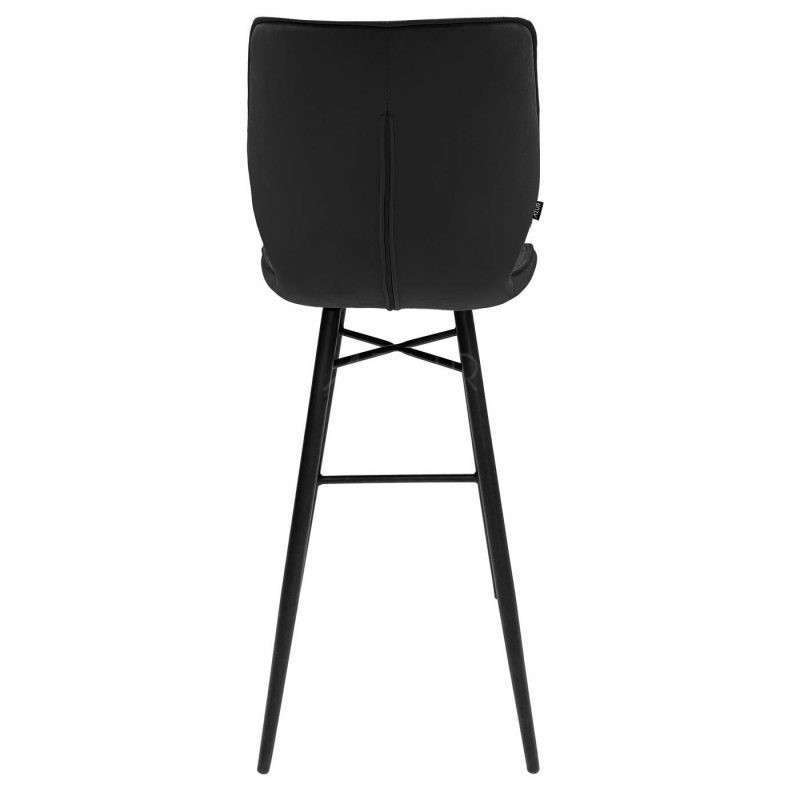 The-one-b-tabouret-velours-noir-hauteur-assise-75cm-by-Azur-Mobilier (3)