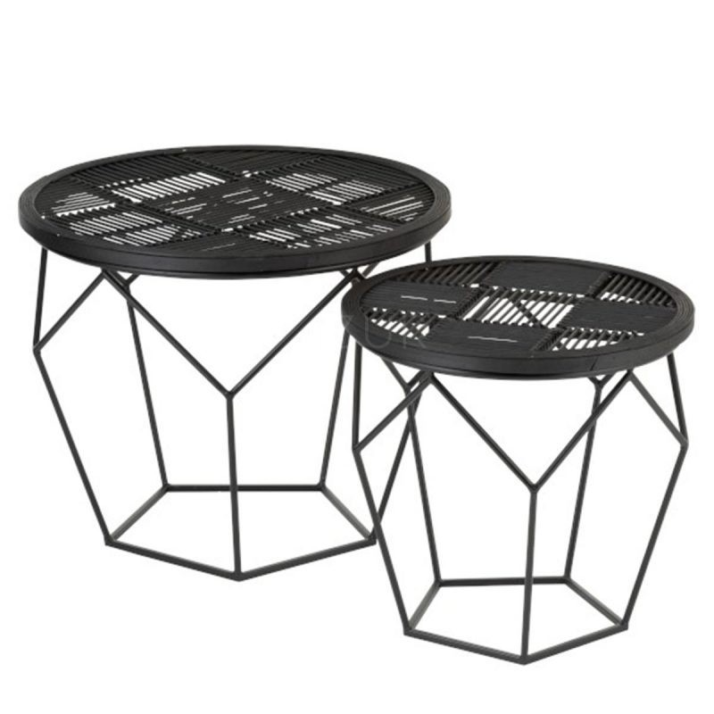 97858-set-2-tables-gigognes-metal-noir-by-Azur-Mobilier (1)