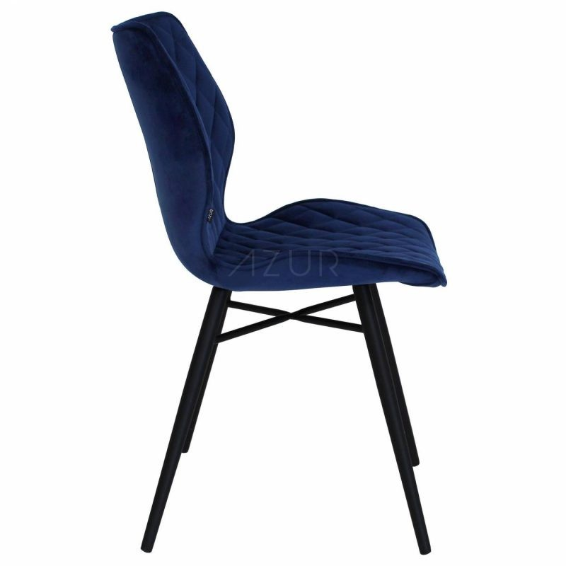 The-one-chaise-velours-bleu-fonce-by-Azur-Mobilier (8)