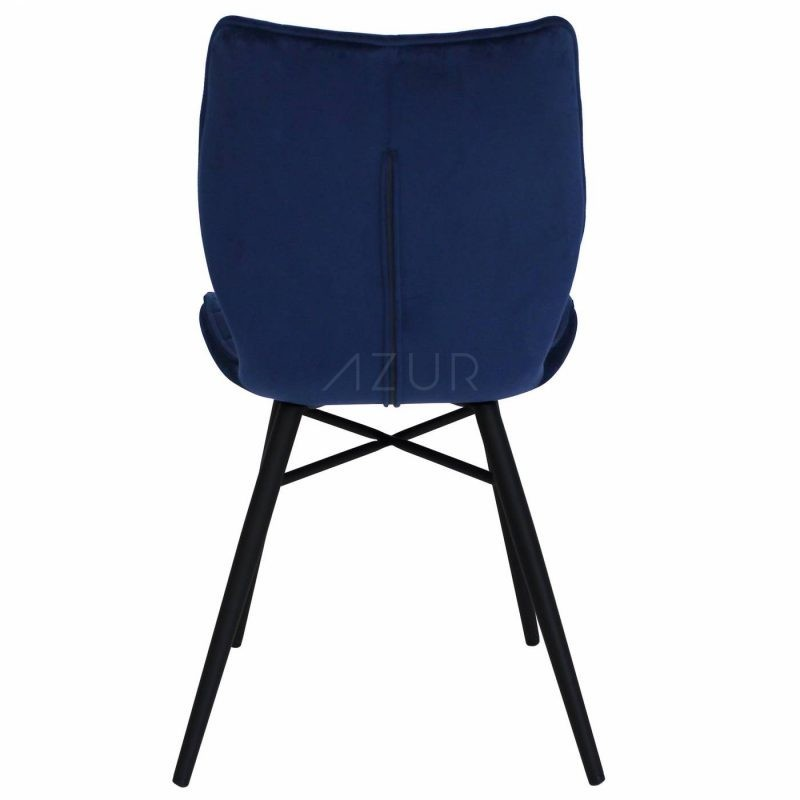 The-one-chaise-velours-bleu-fonce-by-Azur-Mobilier (9)