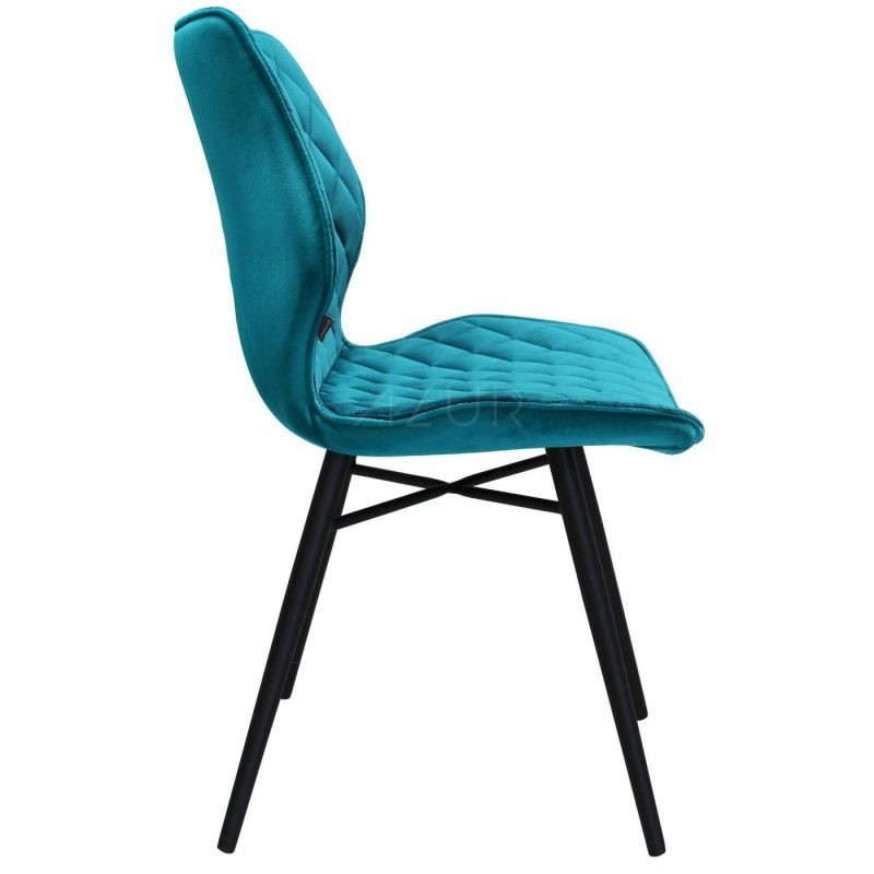 The-one-chaise-velours-bleu-petrole-by-Azur-Mobilier (9)